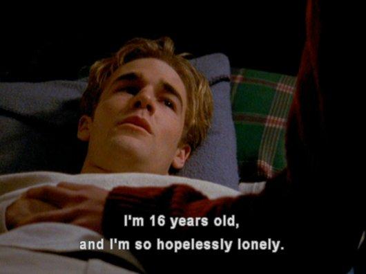 so hopelessly lonely