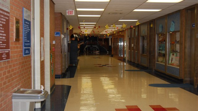 High School Entry Hall - Gary Storts