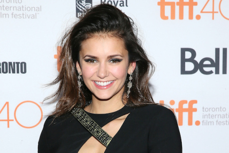 """TORONTO, ON - SEPTEMBER 19:  Actress Nina Dobrev attends the """"Final Girls"""" photo call during the 2015 Toronto International Film Festival at the Ryerson Theatre on September 19, 2015 in Toronto, Canada.  (Photo by Jemal Countess/Getty Images)"""