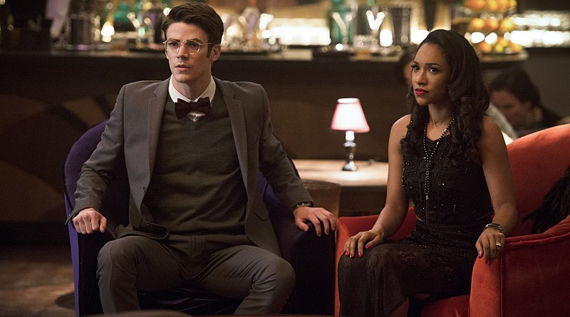 "The Flash -- ""Welcome to Earth-2"" -- Image FLA213b_0345b.jpg -- Pictured (L-R): Grant Gustin as Barry Allen and Candice Patton as Iris West -- Photo: Diyah Pera/The CW -- © 2016 The CW Network, LLC. All rights reserved."