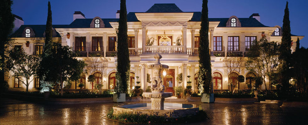 Los Angeles' the Le Belvedere Mansion