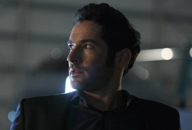 "LUCIFER: Tom Ellis in the ""Take Me Back To Hell"" season finale episode of LUCIFER airing Monday, April 25 (9:01-10:00 PM ET/PT) on FOX. ©2016 Fox Broadcasting Co. CR: Michael Courtney/FOX"